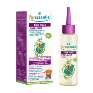 Puressentiel Anti-Lice Lotion With Comb (100ml)