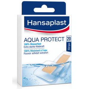 Hansaplast Aqua Protect Strips (20 pieces)