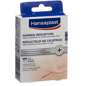 Hansaplast des pansements anti-cicatrices (21 pièces)