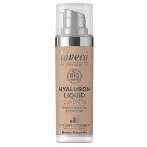 Lavera Hyaluron Liquid Foundation Honey Beige 04 Tube (30ml)