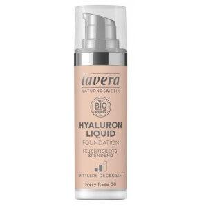 Lavera Hyaluron Liquid Foundation Ivory Rose 00 Tube (30ml)