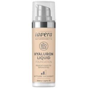 Lavera Hyaluron Liquid Foundation Ivory Light 01 Tube (30ml)