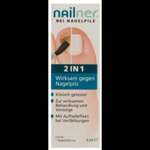 Nailner solution de champignon pour ongles 2-en-1 (5ml)
