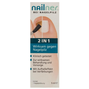 Nailner Nagelpilz-Lösung 2-in-1 (5ml)