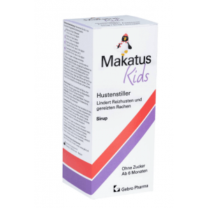 MakatusKids cough suppressant syrup (180ml)