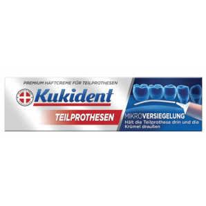 Kukident adhesive cream for partial dentures (40g)