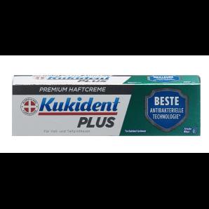 Kukident Plus la crème adhésive BEST Antibacterial Technology (40g)