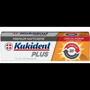 Kukident Plus Premium adhesive cream DUO KRAFT (40g)