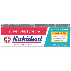 Kukident Super Adhesive Cream EXTRA STRONG ORIGINAL (47g)
