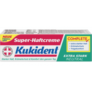 Kukident Super Adhesive Cream EXTRA STRONG NEUTRAL (47g)