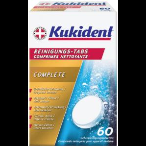 Kukident les languettes de nettoyage COMPLETE (60 pièces)