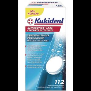 Kukident les languettes de nettoyage EXTRA FRESH (112 pièces)