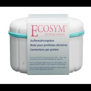 ECOSYM storage box for dentures (1 pc)