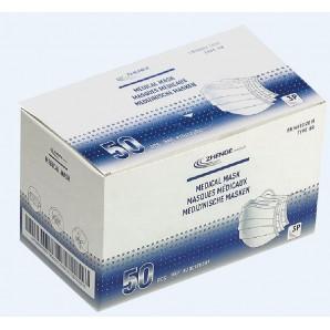 Zhende Medical medizinische Mundschutzmaske Typ IIR (50 Stk)