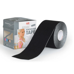 Sissel Kinesiology Tape Black 5cm x 5m (1 piece)