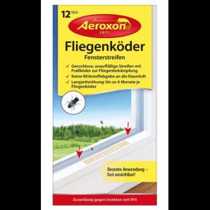 Aeroxon Fliegenköder Fensterstreifen (12 Stk)