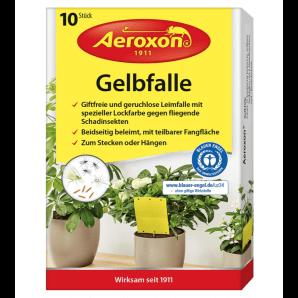 Aeroxon Gelbfalle für Topfpflanzen (10 Stk)