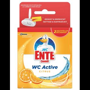 WC-Ente Toilet Active Citrus Hanger Refill (2 x 40g)