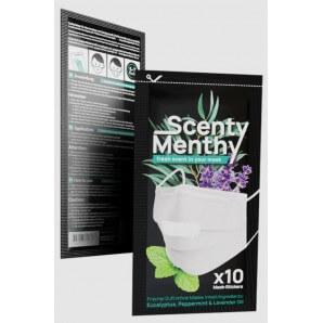 Scenty Menthy Aroma Pads für Masken (10 Stk)