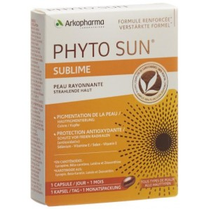 PHYTO SUN Sublime Capsules Duo Pack (2x30 pcs)