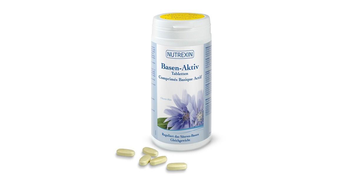 Nutrexin Basen Aktiv Tabletten (400 Stk)