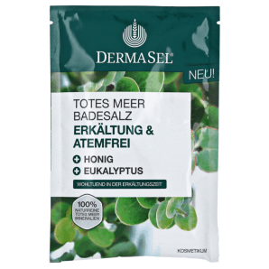 Dermasel Dead Sea Bath Salt Cold & Breath Free (80g)