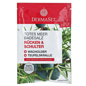 Dermasel Dead Sea Bath Salt Back & Shoulder (80g)