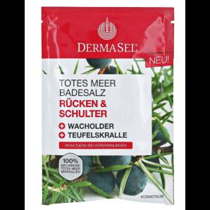Dermasel Totes Meer Badesalz Rücken & Schulter (80g)