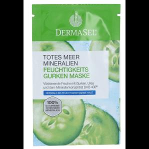 Dermasel Dead Sea le Masque Hydratant au Concombre (12ml)