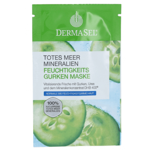 Dermasel Dead Sea Moisturizing Cucumber Mask (12ml)