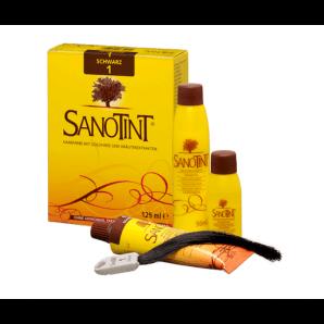 Sanotint hair color 01 black (125ml)