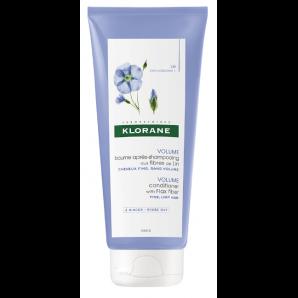 KLORANE après-shampoing aux fibres de lin (200ml)