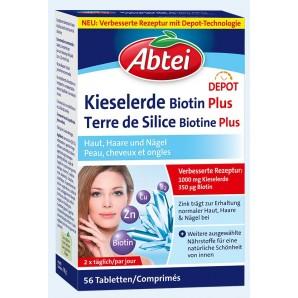 Abtei Kieselerde Biotin Plus (56 Stk)