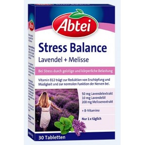 Abtei Stress Balance (30 pieces)