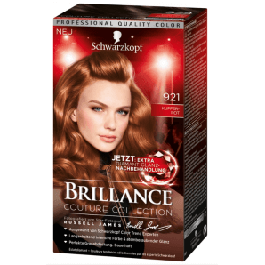 Schwarzkopf Brillance 921 Couture Collection copper red