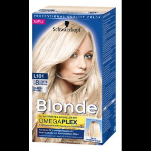 Schwarzkopf Blonde L101 azurant platine argent blond