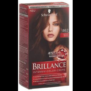 Schwarzkopf Brillance 862 natural brown