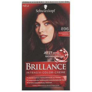 Schwarzkopf Brillance 896 Black Red