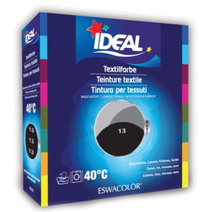 IDEAL Textilfarbe Schwarz 13 Maxi (400g)