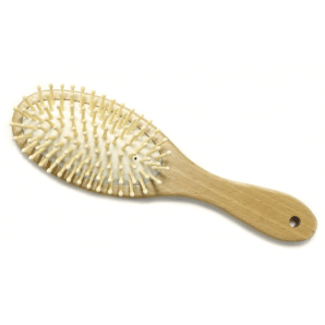 Herba hairbrush with wooden pins oval (1 pc)