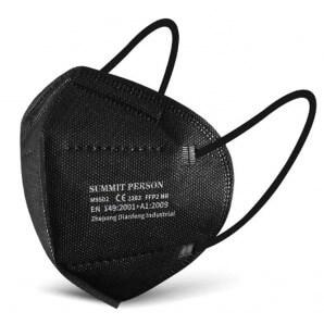 SUMMIT PERSON FFP2 Atemschutzmaske schwarz (10 Stk)