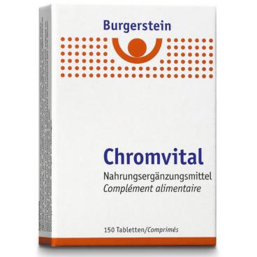 Burgerstein Chromvital (150 Tabletten)