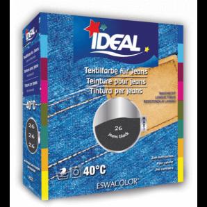 IDEAL Fabric Dye Black Jeans 26 Maxi (400g)