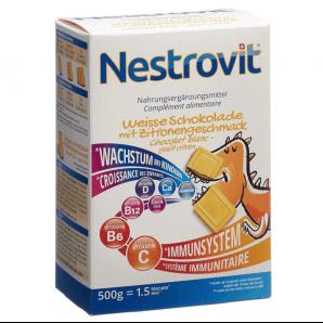 Nestrovit Weisse Schokolade Nahrungsergänzungsmittel (500g)