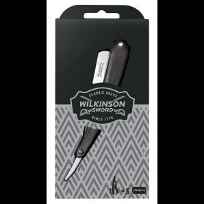 WILKINSON SWORD Le Rasoir Classique Vintage Avec 5 Lames (1 pièce)
