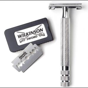 WILKINSON SWORD Vintage Classic Safety Razor With 5 Blades (1 piece)