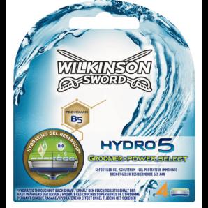 WILKINSON SWORD Hydro 5 Groomer Power Select Razor Blades (4 pieces)