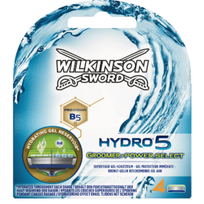 WILKINSON SWORD Hydro 5 Toiletteur Puissance Sélectionner Lames De Rasoir (4 pièces)