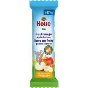 Holle Früchte Riegel Apfel Banane Bio (20x25g)