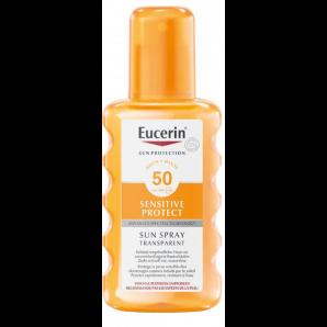 Eucerin Sensitive Protect Sun Spray Transparent LSF 50 (200ml)